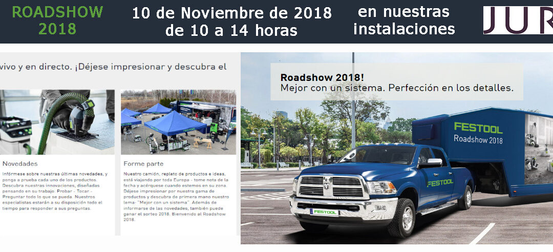 Festool – Roadshow 2018